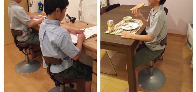 ルナ 子どもの学習椅子に